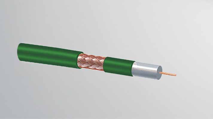 KX6 75 Ohm CCTV coaxial Cable